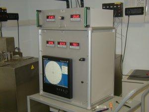 Centralina barometrica con registratore videografico