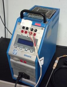 Taratura Fornetto catena termometrica