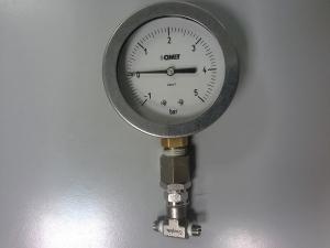 Taratura manometro di pressione